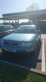 AUDI A6 2.8 quattro; 1 YEAR MOT; or swap for Clio Ibiza Leon Almera Polo