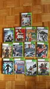 13 Xbox games in great condition for $5 each