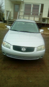 05 nissan sentra, drives amazing, only 160km, $550obo