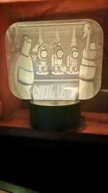 Amount us laser engraved lamp