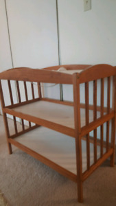 Table for diaper change