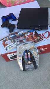 Excellent condition PlayStation with games/controllers