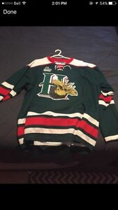 Selling Halifax Mooseheads 20th anniversary jersey