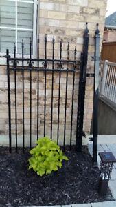 Backyard Iron Gate