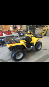 MINT LOW KMS 2006 Polaris 500 sportsman quad