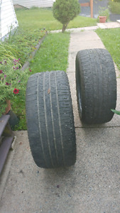 Good year tires off a Ford Mustang 255/45/19