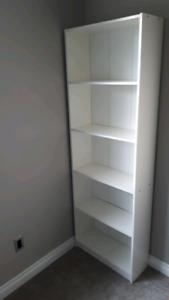 White Bookshelf / Bookcase