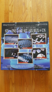 Deluxe 6-in-1 Game Set