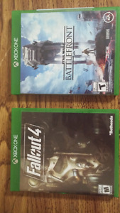 Fallout 4 and star wars battlefront for xbox one