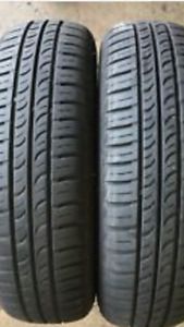 205/55R16 MOTOMASTER AW2 SET OF 2 USED TIRES 90%tread left $80