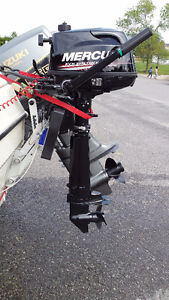 "2015 Mercury 4 stroke 6HP Outboard, Long Shaft (20"")"