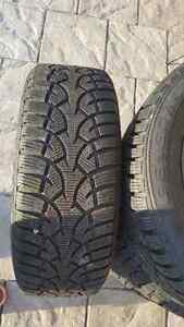 General Altimax Arctic Tires on Rims 205/55 R16 - $500 West Island Greater Montréal image 4