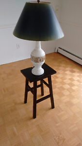 Decorative side table with Lamp