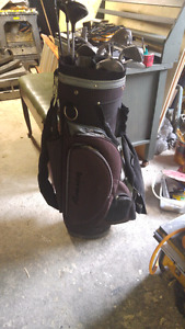 Fairway golf clubs.  Just drivers and  irons and bag. No putter