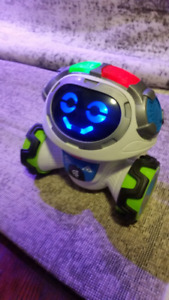 Fisher-Price robot toy Think &Learn Teach & Tag Movi - French
