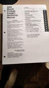 Manuel de Service / Workshop Manual : Mazda Protege 5,  2002