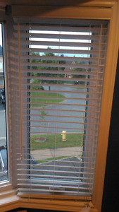 """2.0"""" Horizontal Faux Wood Blinds. New"""
