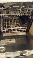 KitchenAid stainless steel Dishwasher Clean and working!