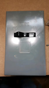 120 amp shut off / a.c. pullout switch