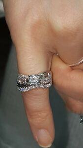 Custom Diamond Engagement Ring w/ Wedding Band for half price!