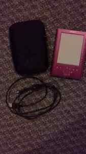new pink Sony E Reader