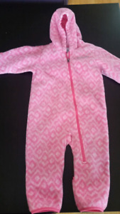 12M fleece suit