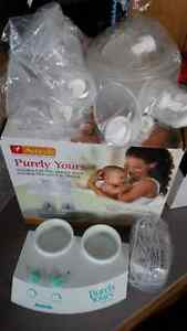 Purely Yours, double  Breast pump Kitchener / Waterloo Kitchener Area image 3