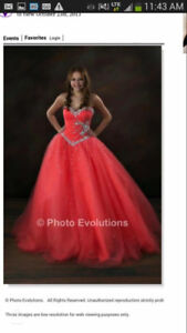 Beautiful Mori Lee prom dress for sale - worn once!