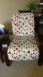 Polka Dot Accent Chairs (2)