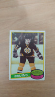 Ray Bourque 1980 Topps Rookie Card Boston Bruins