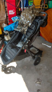 City Mini stroller with scooter board