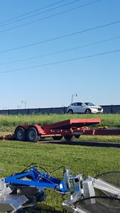 20 foot tilt deck car hauler