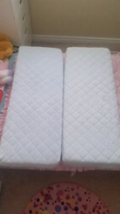 2 Matress pieces for extendable bed