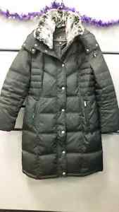 Brand New London Fog Down Winter Parka  - Medium in Black
