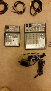 Various Cables, Mixers,