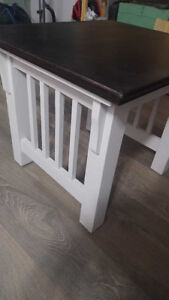 Beautifully refinished end tables
