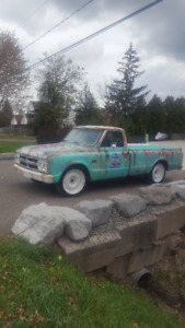 1967 GMC with Wild Patina Paint