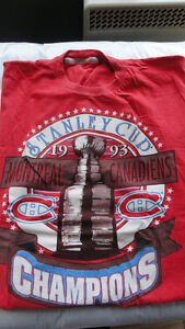 "Items de collection des "" Canadiens de Montréal "", à vendre."