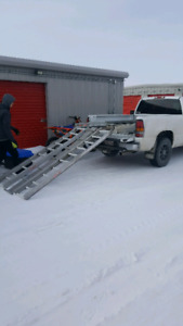 In box sled deck