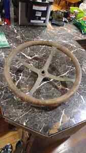 Vintage 1900's steering wheel