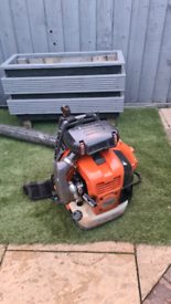 Husqvarna petrol backpack leaf blower garden vac