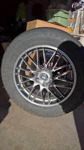 Rims and tires for Ford Edge