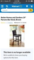 Parsons Bar Stools For Sale