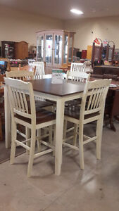 Counter Height Dining Set - New