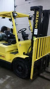 Hyster pneumatic tire forklift Kitchener / Waterloo Kitchener Area image 2