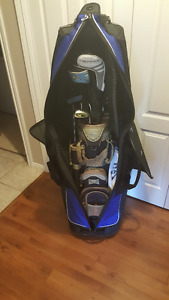 2 Large Mizuno Traveller Golf Bags - Like New used once
