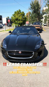 ****2018 JAGUAR FTYPE  LEASE TRANSFER**** AMAZING DEAL!!!!!
