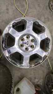"4- 20"" ford rims  Prince George British Columbia image 1"