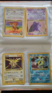 Rare Pokemon Cards in Excellent Condition for Sale!