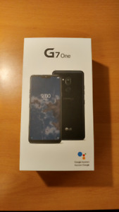 BNIB LG G7 One Smartphone Never Opened